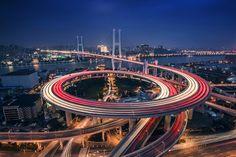 Nanpu bridge by Julien Folcher #xemtvhay