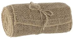 """Rustic Woven 6"""" Burlap Ribbon - Weddings Home Decor Christmas Wreaths DIY Projects Sewing Western Birthday Parties- Rustic Chic. $5.99, via Etsy."""