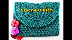 Como fazer bolsa de croche | Bolsa de Mão | Clutch Euroroma | Parte 1