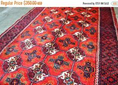 40% OFF SALE Stunning Bokhara Runner by TEKKARUG on Etsy