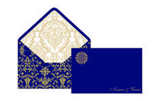 6 Wedding Stationery Note Cards Premium Styles Note cards Beautiful Invitations - By GLDS - New Delhi Stationery Design, Wedding Stationery, Wedding Invitations, Anniversary Invitations, Anniversary Cards, Laser Cut Box, Indian Wedding Cards, Personalized Stationery, Table Cards