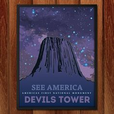 Devils Tower National Monument by Eric Roche for See America by Creative Action Network - 2