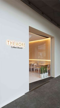 THE MORE Coffee & Brunch / Betwin Space Design