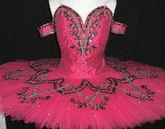 sesami cerise pink www.theworlddances.com/ #costumes #tutu #dance