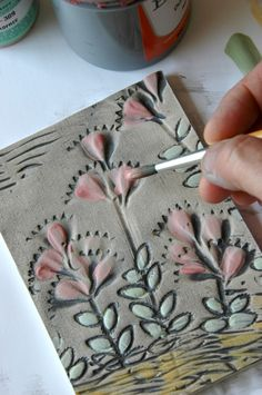Wondering if this would work on foam sheets to make stamps? This is a must try ... SJS