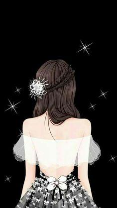 Beautiful Girl Drawing, Cute Girl Drawing, Beautiful Fantasy Art, Cartoon Girl Images, Cute Cartoon Girl, Cute Girl Photo, Beautiful Girl Image, Fashion Illustration Dresses, Anime Art Fantasy