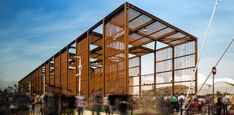 Gallery - Gallery: Fernando Guerra Captures the Brazil Pavilion at Milan Expo 2015 - 3 Social Housing Architecture, Pavilion Architecture, Commercial Architecture, Architecture Design, Landscape Architecture, Expo Milano 2015, Expo 2015, Luz Natural, Interior Exterior