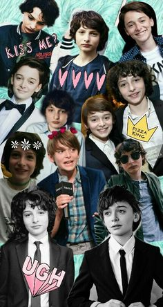 Noah schnapp y Finn Wolfhard ❤ Series Movies, Tv Series, Funny Phone Wallpaper, Stranger Things Netflix, Best Shows Ever, Cute Wallpapers, Cute Boys, Famous People, Fangirl