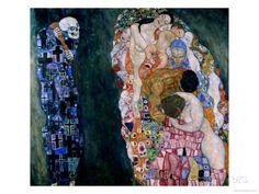 Death and Life, circa 1911 - Gicleetryck av Gustav Klimt på AllPosters.se