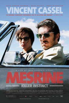 Mesrine: Killer Instinct 27x40 Movie Poster (2008)