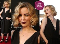 Best Red Carpet Appearance by an Aussie: Melissa George