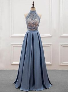 O-Neck A-Line Prom Dresses,Long Prom Dresses,Cheap Prom Dresses, Evening Dress Prom Gowns, Formal Wo on Luulla Lace Party Dresses, A Line Prom Dresses, Formal Dresses For Women, Cheap Dresses, Homecoming Dresses, Lace Dress, Prom Gowns, Dress Long, Dress Prom
