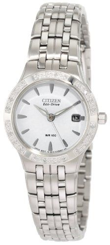 Citizen Womens EW0960 54A Silhouette Diamond Eco Drive Watch Price check Go to amazon storeReviews Read Reviews to amazon storeCitizen Women s EW0960 54A Silhouette Diamond Eco Drive Watch 395 00 237 00 1 FREE Super Saver Shipping Free Returns See Details See Visually Similar Items