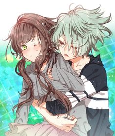 collar x malice image Anime Couples Drawings, Anime Couples Manga, Anime Guys, Anime Girl Dress, Anime Art Girl, Anime Siblings, Anime Friendship, Anime Reccomendations, Cute Anime Coupes