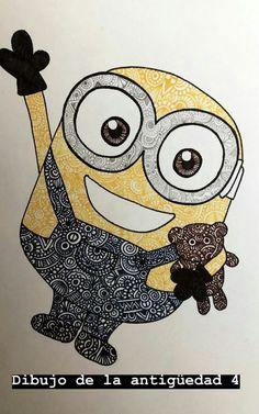 Sketch Pen Drawing, Doodle Art Drawing, Sketchbook Drawings, Zentangle Drawings, Mandala Drawing, Mandala Art Lesson, Mandala Artwork, Disney Drawings, Cute Drawings
