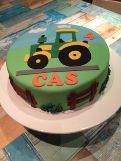 Tractor Cake Our Cakes And Such Pinterest Cakes