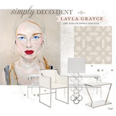 Simply Deco-Dent With Layla Grayce by pillef on Polyvore featuring interior, interiors, interior design, home, home decor, interior decorating, Worlds Away, Grayce, contestentry and simplydecodentwithlaylagrayce