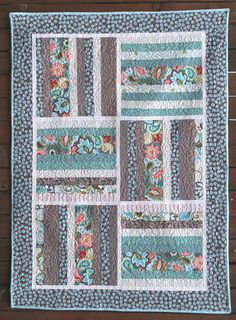 "FREE pattern: ""A Quilt for Claire"" from Emily Taylor Design"