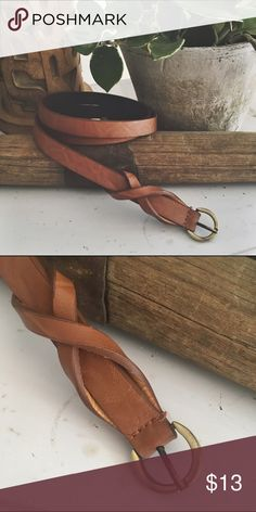 FREE PEOPLE/ faux leather belt ⱝ light brown ⱝ vegan leather ⱝ free people ⱝ best fits xsmall, small ⱝ used condition    » I DO NOT LOWER MY PRICES, SO OFFERS ARE ABSOLUTELY WELCOME  » UNLESS IT IS FOR A BUNDLE, I WILL NOT RESPOND TO OFFERS IN COMMENTS   » I WILL MAKE A NEW LISTING FOR DISCOUNTED SHIPPING Free People Accessories Belts