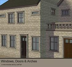 Mod The Sims - Von Trapp Windows and Arts&Crafts Doors