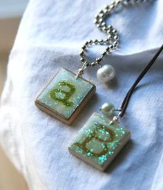 beckyshander | Altered Scrabble Tile Necklaces :: by Becky Shander - Gallery