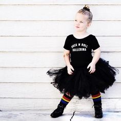 """Little Wonderland Clothing on Instagram: """"To end #tututuesday  We got miss cute thang Kennedy stylin in our Rock n Roll Ballerina Leo + rocker tutu @tinandella + love this socks from @pridesocks + always needs tats @duckystreet  Welcome @kennedyscurls to our Rockstar team!! All these kids ❤️ #fab #fashion #fashionista #kidsfashion #girl #ballerina #tutu #hipkidfashion #trendy #style #igkiddies #stylish #stylishkids #rad #grunge #bombshell #ootd #alternative #love #90s #model #epic"""