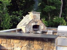 Outdoor Kitchen U0026 Pizza Oven   Westport CT | Classic Garden Design LLC