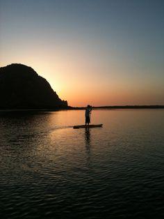 Sunset, Morro Rock.