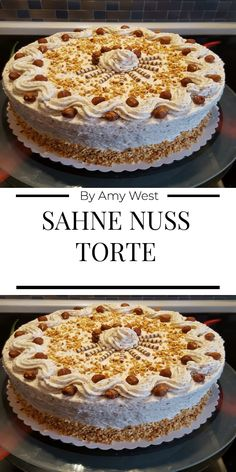 Funny Cake, Dessert Sauces, Cakes And More, Vanilla Cake, Tiramisu, Vegan Recipes, Food And Drink, Pie, Baking
