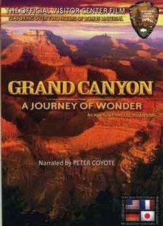 GRAND CANYON Journey of Wonder PETER COYOTE narrator Aperture Films, Ltd. ASIN: B006JS49B8 3 new from $19.95 8 used from $11.95  180 mins kupila som nasim