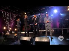 Il Divo Exclusive 'Time to Say Goodbye' Live Video in AOL Music