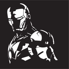Ironman Vector drawing by Tromano89
