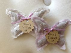 Butterfly lavender sachet  party favors by LittleSleepy on Etsy, $24.00
