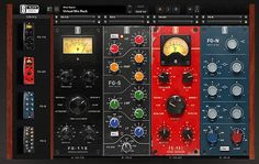 Another preview from the AES. This time it's Slate Digital announcing the coming VIRTUAL MIX RACK plugin. The VMR is a modular channel strip...