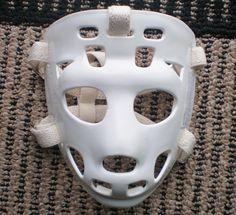 Mylec Street Hockey Tony Esposito mask... Street Hockey, Goalie Mask, Hockey Goalie, Nhl, Masks, Sports, Vintage, Style, Hs Sports