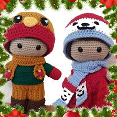 This pattern was formerly the Christmas 2016 Weebee Mystery Crochet-A-Long.