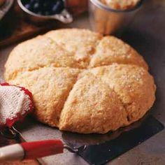 A tender scone flavored with dried apricots; serve warm with apricot butter for breakfast or brunch.