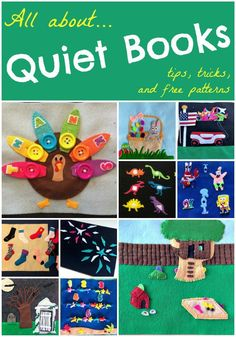 Want to know what is a quiet book? Everything you need to know about starting to sew a quiet book for kids is here, including great links and resources.