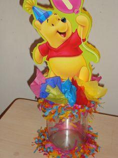 centro de mesa winnie pooh