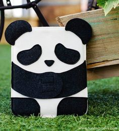 Cutest Sad Panda iPad 2 Case for Adorable Girl