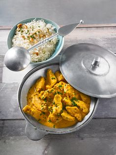Indisches Chicken Korma - My list of simple and healthy recipes Poulet Tikka Masala, Chicken Tikka Masala, Chicken Korma Recipe, Chicken Recipes, Chicken Curry, Keto Chicken, Fried Chicken, Curry Recipes, Vegetarian Recipes