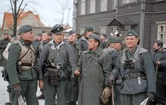 Estonian volunteers - Nazi Soldiers of 20 Waffen-Grenadier-Division SS Not many color photos out there