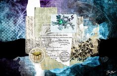 CabinetofCuriousities by Gina Startup #collage # mixedmedia