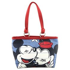 Classic Minnie and Mickey Mouse Tote by Harveys. Opening soon @Disney Store Scarborough Town Centre. #tote #Disney