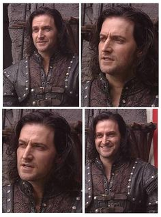 This must be between scenes shots because that looks like a Richard Smile, not a Guy Smirk.