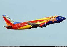 N383SW Southwest Airlines Boeing 737-3H4 photographed at Phoenix - Sky Harbor International (PHX / KPHX) by Robin Guess AZ Action Photo
