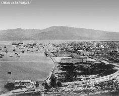 ✿ ❤ Liman ve Sarıkışla (1865) Eski İzmir Fotoğrafları