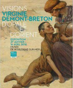 Virginie Demont-Breton Visions d'Opale et d'Orient Orient, Movie Posters, Movies, Virginia, Opal, Radiation Exposure, Films, Film Poster, Cinema