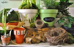 DIY Spring Clay Pots