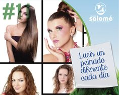 Te damos recomendaciones para que luzcas un peinado diferente cada día: https://www.pinterest.com/mariasalomelab/peinados-2015/